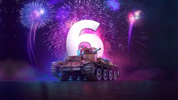 Celebrating 6 Years of World of Tanks: Mercenaries!