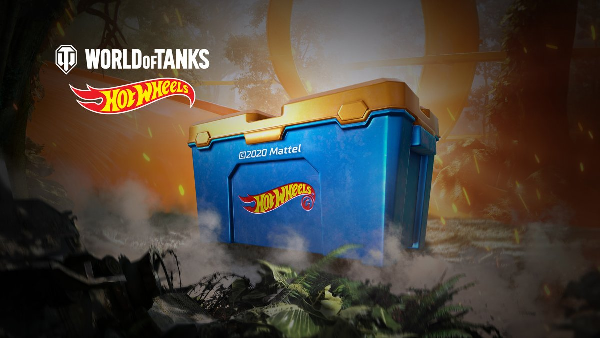 World of Tanks: Hot Wheels™ Chests!