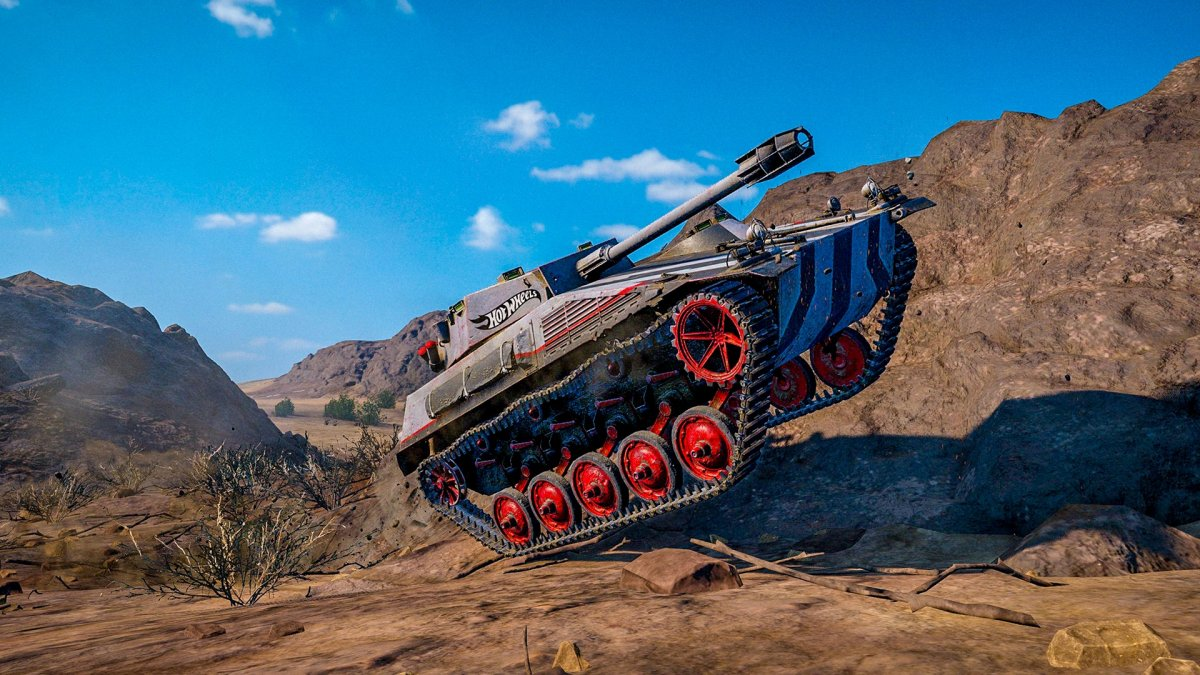 Two Mighty Forces: World of Tanks and Hot Wheels™!