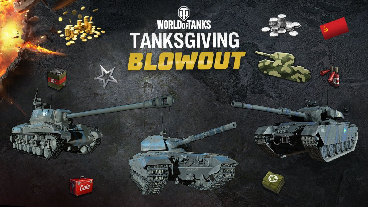 Cold Steel Tanks Joining the Tanksgiving Blowout – Week 3!