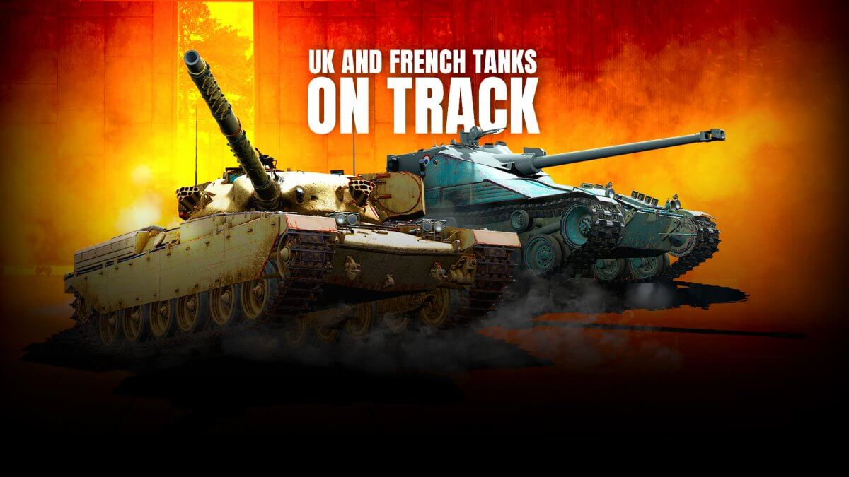 Want to Own All British and French Tech Tree Tanks?