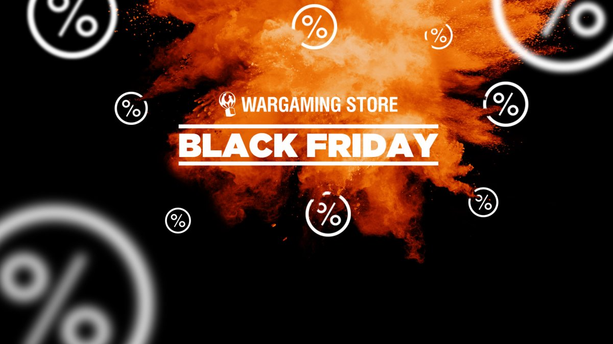 Wargaming Store: Black Friday and Cyber Monday Deals Are Here!