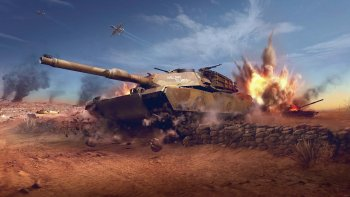 The Battlefield Evolves. Introducing World of Tanks: Modern Armor!