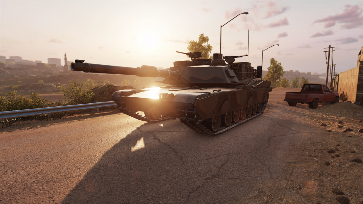 M1A12 Abrams_Beauty 1920X 1080