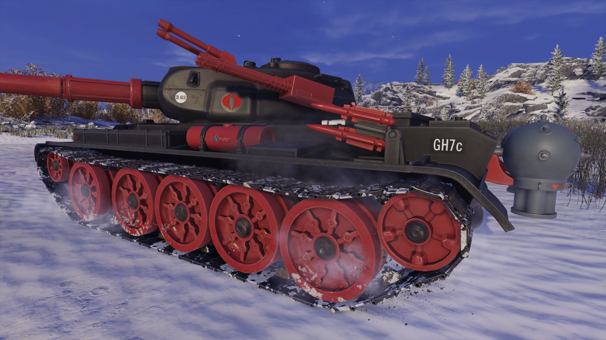 T-54 First Prototype Skin (2)
